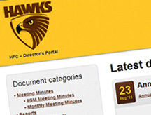 Hawthorn Football Club Director's Portal