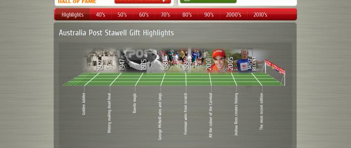 stawellgifthalloffame.com.au » Australia Post Stawell Gift Highlights
